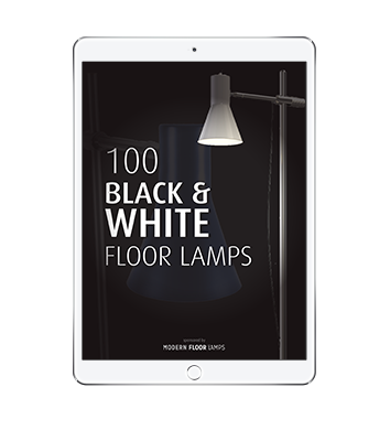 100 Black and white Floor Lamps