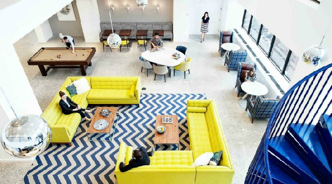Interior Design and Architecture Inspirations Gensler Best Projects best-interior-designers-gensler-mccann-headquarters