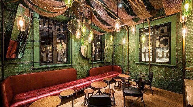 Interior design inspirations restaurants to die for for Restaurant interior design inspiration