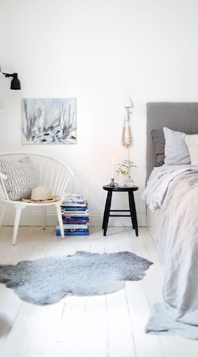 Scandinavian Inspirations: white, grey and lots of fur