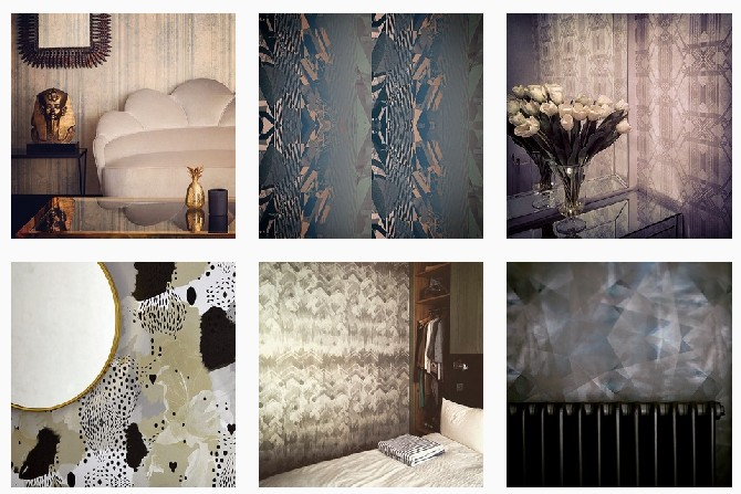 Wallpapers and fabric inspirations from Decorex: 17 patterns