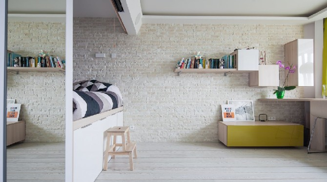 Inspirational Interior Designs: a small warm apartment in Russia