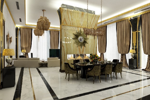 Luxury Interior Design an eclectic and romantic room (3)