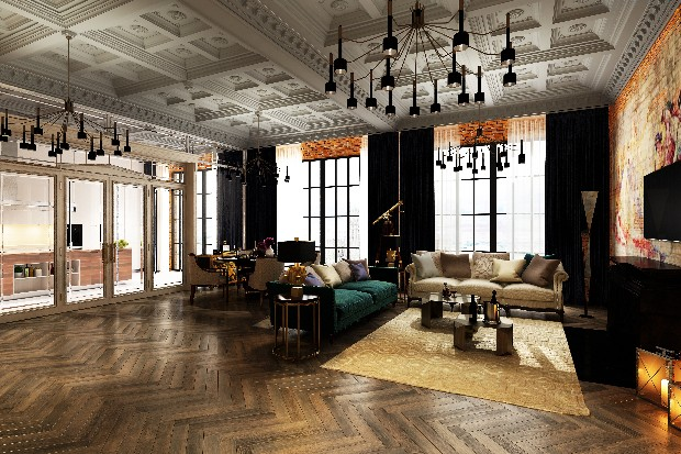 Luxury Interior Designs an eclectic and romantic room (6)