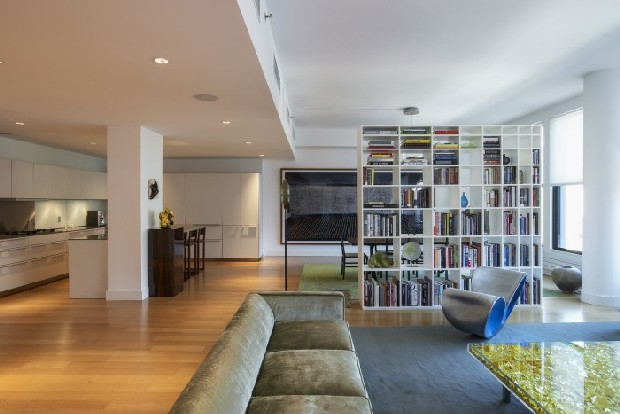 Outstanding modern residential projects in new york Nyc living room ideas