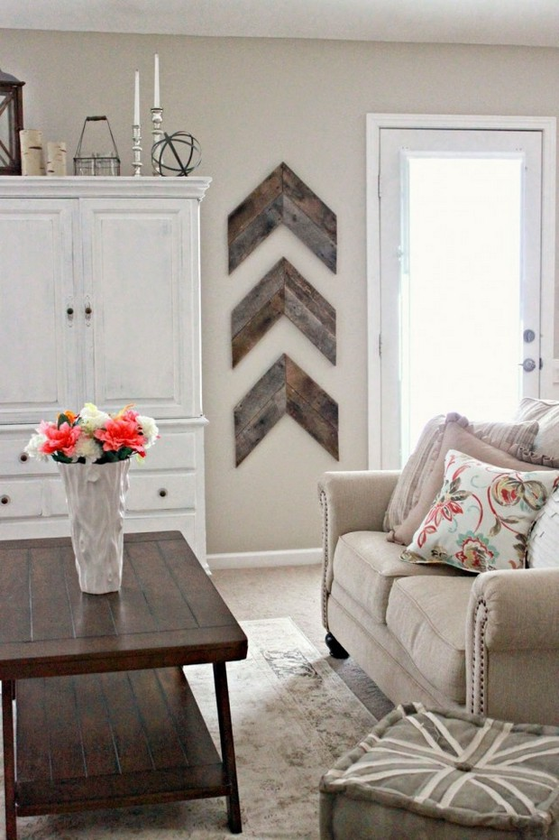 LIVING ROOM IDEAS ON BLANK WALLS: GET THE LOOK