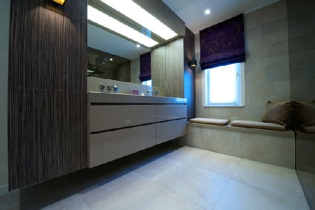 Contemporary interior designs by Mirablau Design bathroom