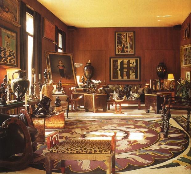 Interior Design Inspirations: Yves Saint Laurent Apartment