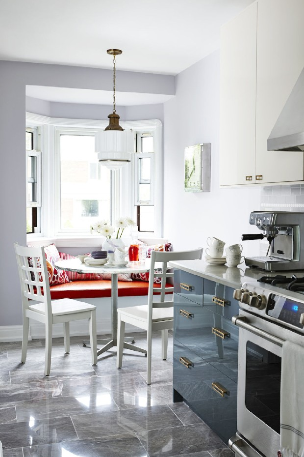 Elegant dining and living room designs by Sarah Richardson