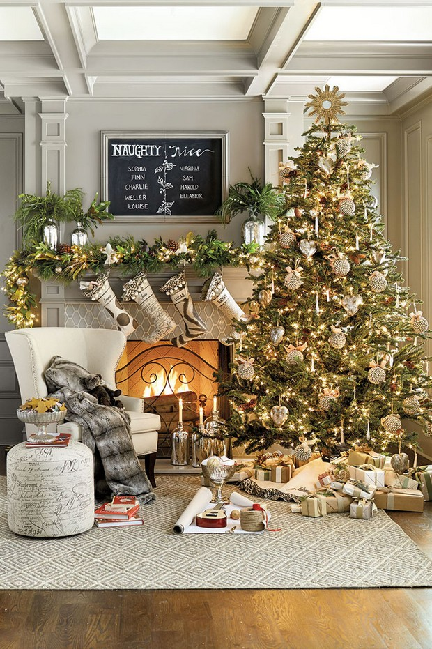 Christmas decorating ideas for your Living room