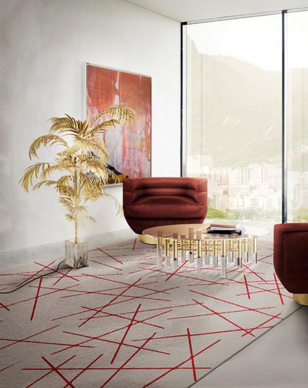 Living room design - rugs
