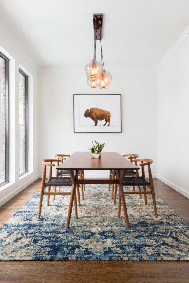 Mid Century Modern dining room: top 10 ideas