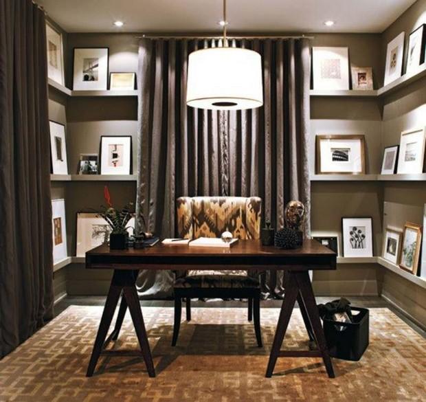 Mid Century Modern Office Design Ideas
