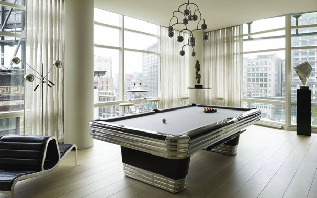 Mid century modern playing tables