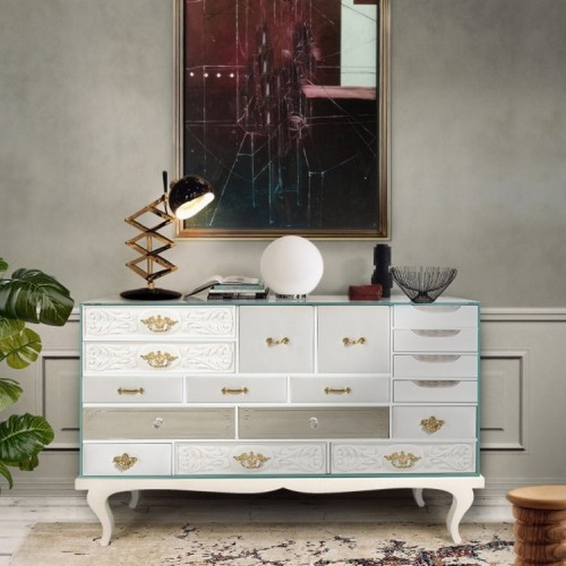 Top Mid century console tables