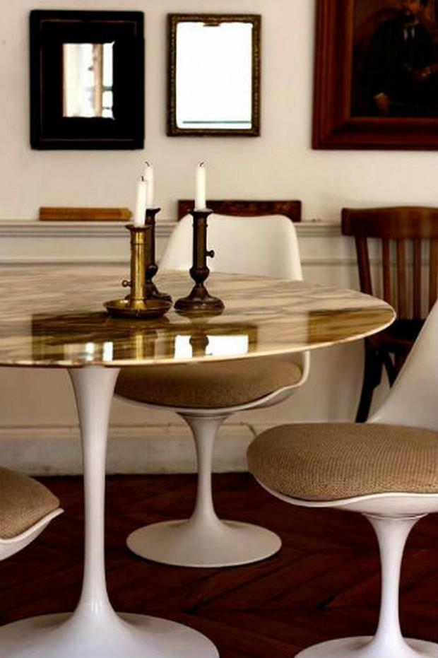 mid century modern dining tables