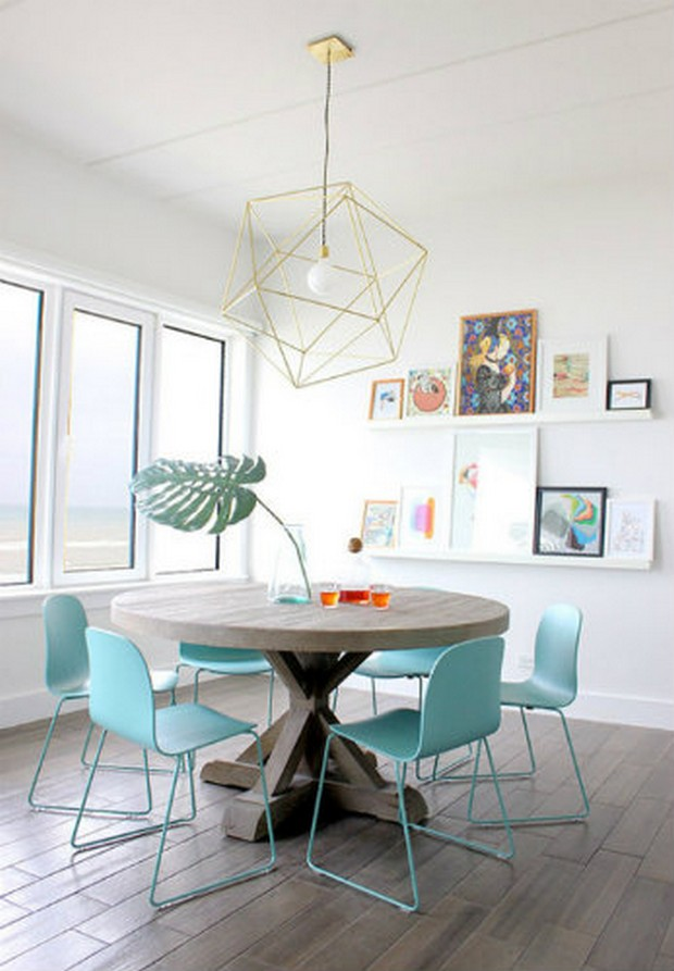 mid century dining tables
