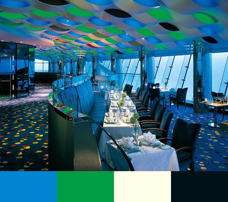 10 Restaurant interior design color schemes10