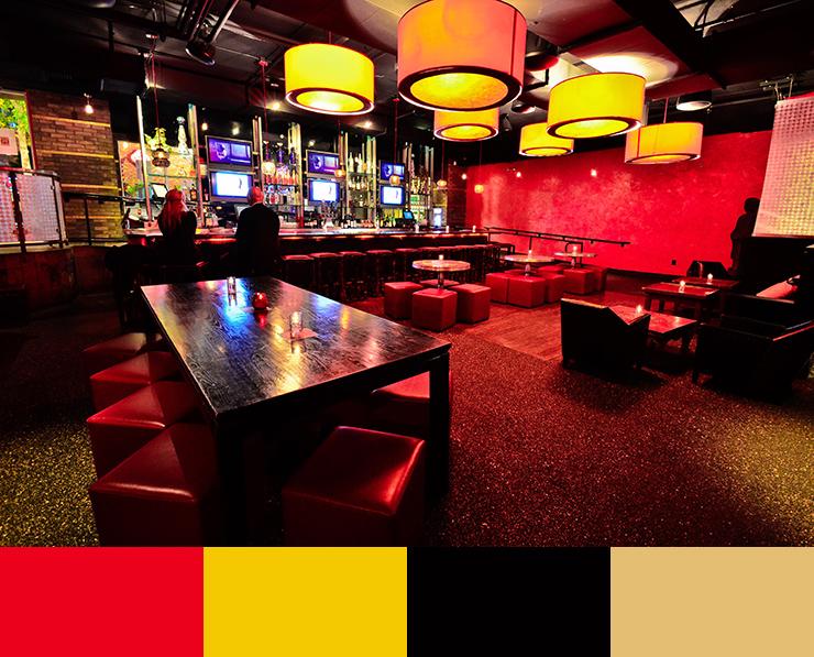 10 Restaurant interior design color scheme