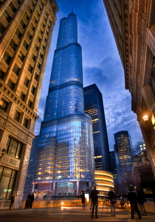 BE INSPIRED BY TRUMP HOTEL IN CHICAGO
