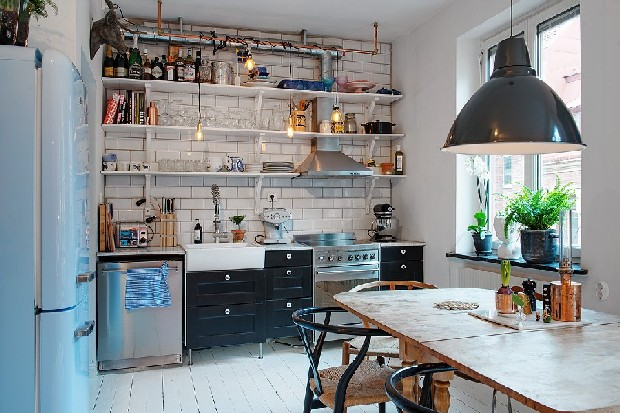Be Amazed By This Retro Apartment Decor In Sweden