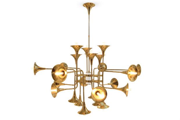 Living Room Design Trends brass details 2