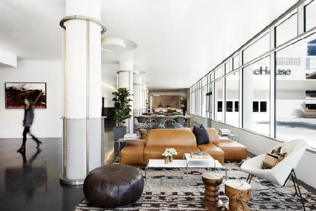 Inspiring modern work station in LA with a vintage feeling