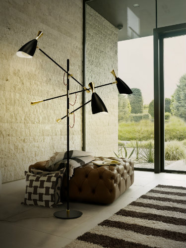 NSPIRING CONTEMPORARY FLOOR LAMPS FOR A LIVING ROOM