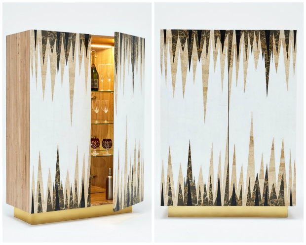 Luxury Furniture for your Living Room by Rue Monsieur Paris Cabinet 3