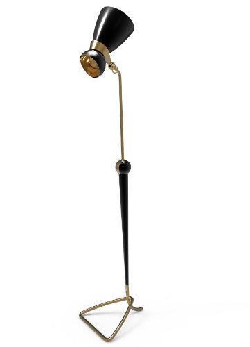 MODERN FLOOR LAMP DESIGNS WITH BRASS DETAILS