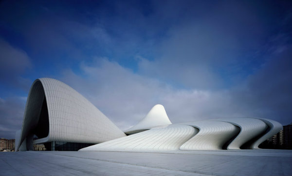 Inspiring Buildings by the Iconic ZAHA HADID
