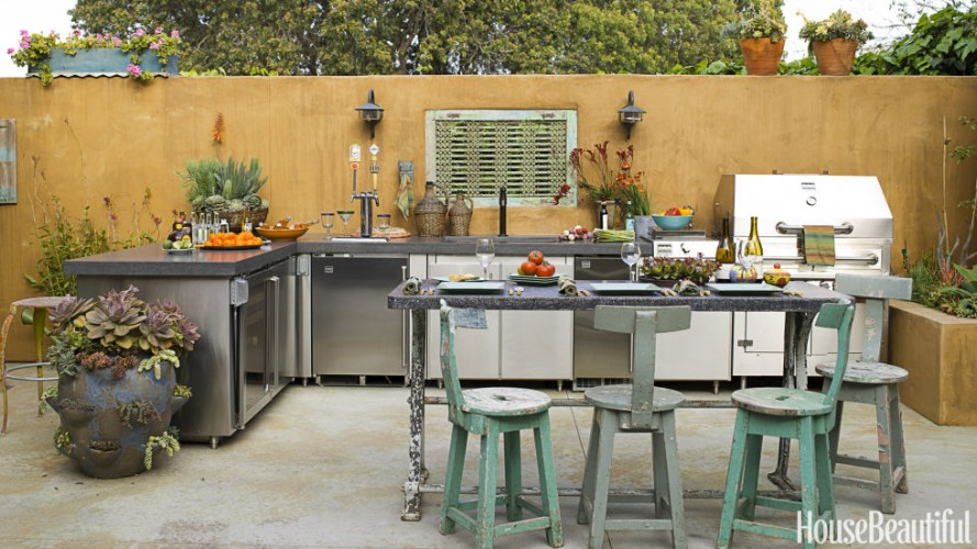 Cool outdoor kitchen design ideas - Easy install modular outdoor kitchens create chefs paradise ...
