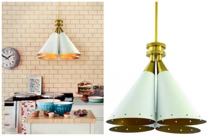 Inspiring Bold Colors for Modern Kitchen by DelightFULL
