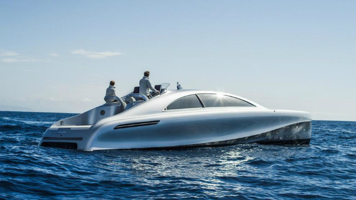 Inspiring Luxury Designs: FIRST SUPERYACHT BY MERCEDES-BENZ