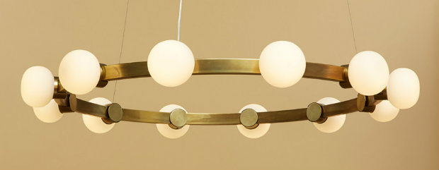 RICH BRILLIANT WILLING LIGHTS UP ICFF