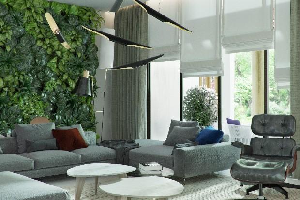 contemporary eco atrium an inspiring living room project. Black Bedroom Furniture Sets. Home Design Ideas