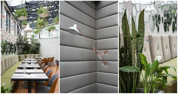 Modern Restaurant Design inspiring projects: berthelot's modern restaurant design in bucharest