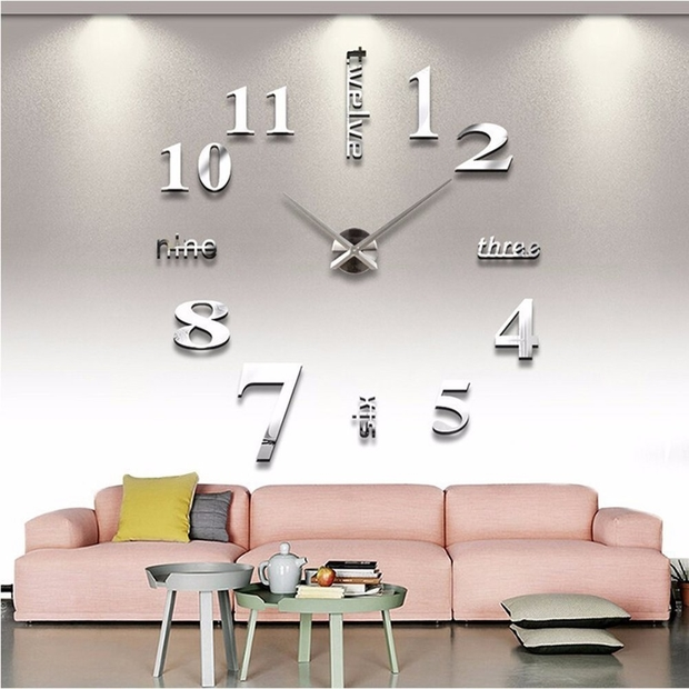 10 unique wall clocks for your living and dining room for Living room wall clocks