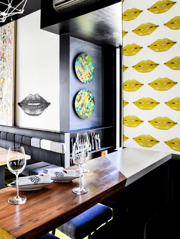 Italian wave of modern design meeting the traditional Chinese: Buonabocca Italian winebar