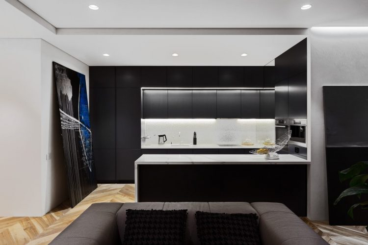 BEST MODERN DESIGN APARTMENT FOR A BIG FAMILY Stunning Modern Design Apartment