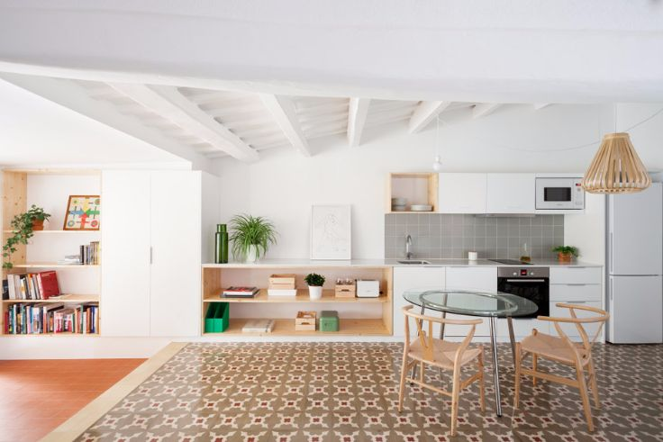INSPIRING BARCELONA APARTMENT WITH A MINIMALIST DESIGN