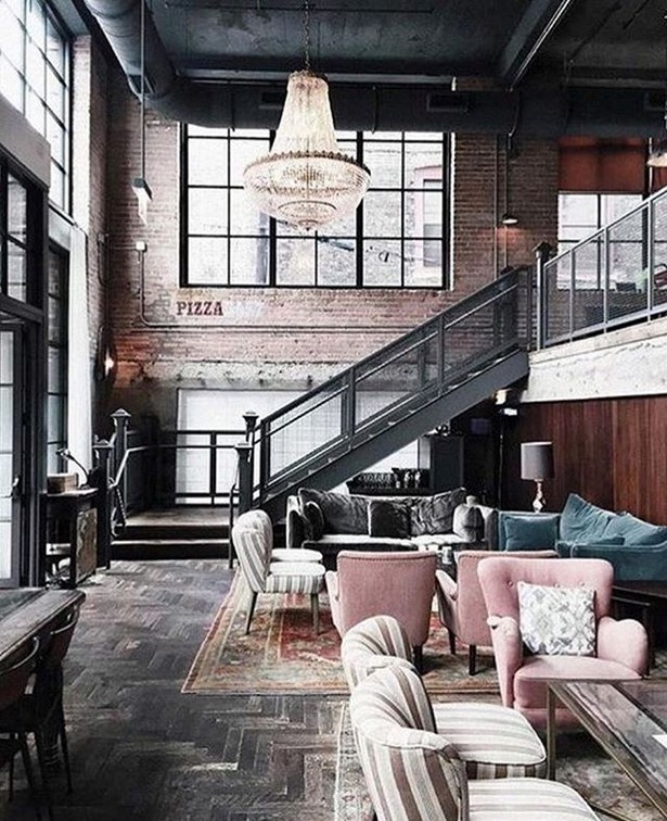 Industrial style bedroom inspiration ideas for Interior design inspiration industrial