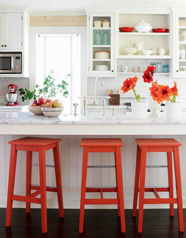 INSPIRING COLORS: HOW TO DECORATE THE HOUSE WITH WHITE AND RED How To  Decorate The