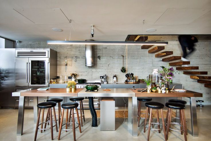 INSPIRING INDUSTRIAL STYLE RESIDENCE