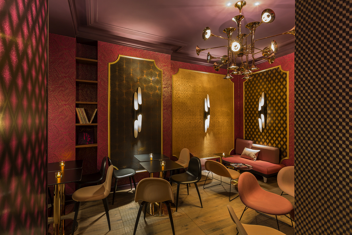 Inspiring Hotel Design Idol Hotel Paris