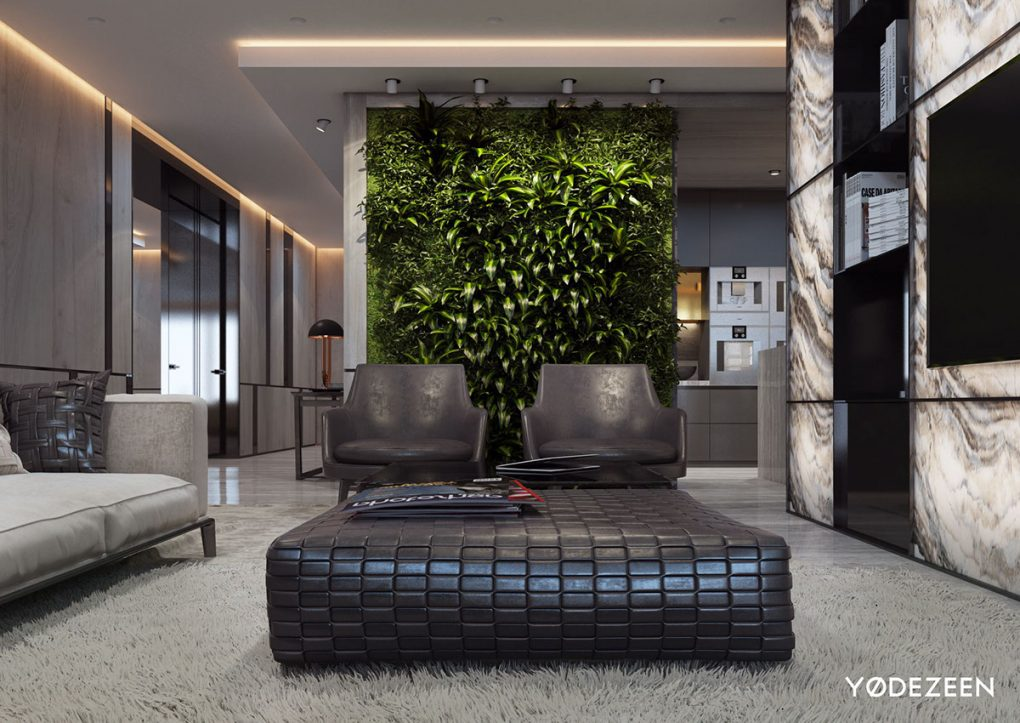 Inspiring Minimalist Luxurious House By Yødezeen