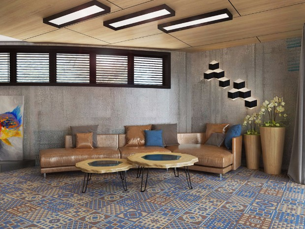 Stylish MidCentury Interior Design