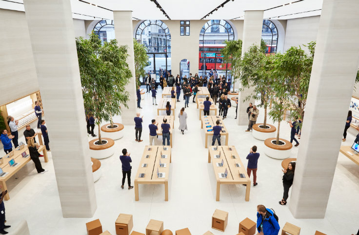 TAKE A LOOK AT THE REDESIGNED APPLE REGENT STREET