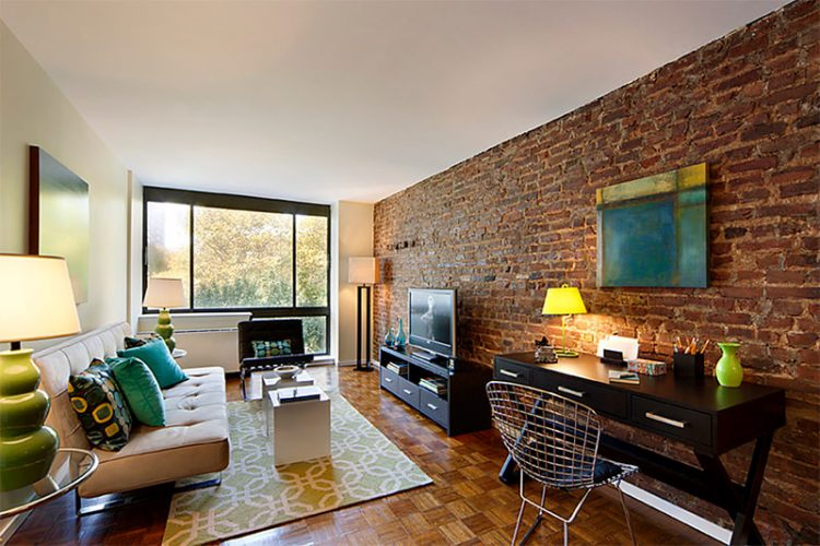 Inspiring Interiors Using Rustic Brick Walls