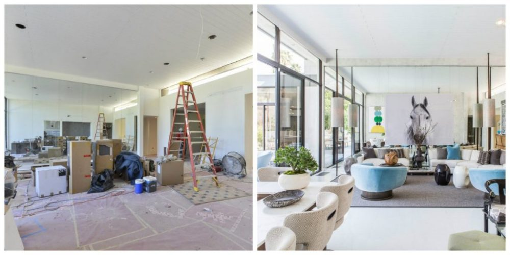 BEFORE&AFTER: INSPIRING TRANSFORMATION INSIDE A MID-CENTURY MODERN HOME